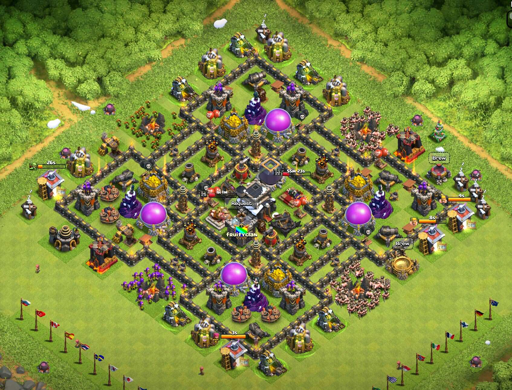 Clash of clans town hall 10 rk md