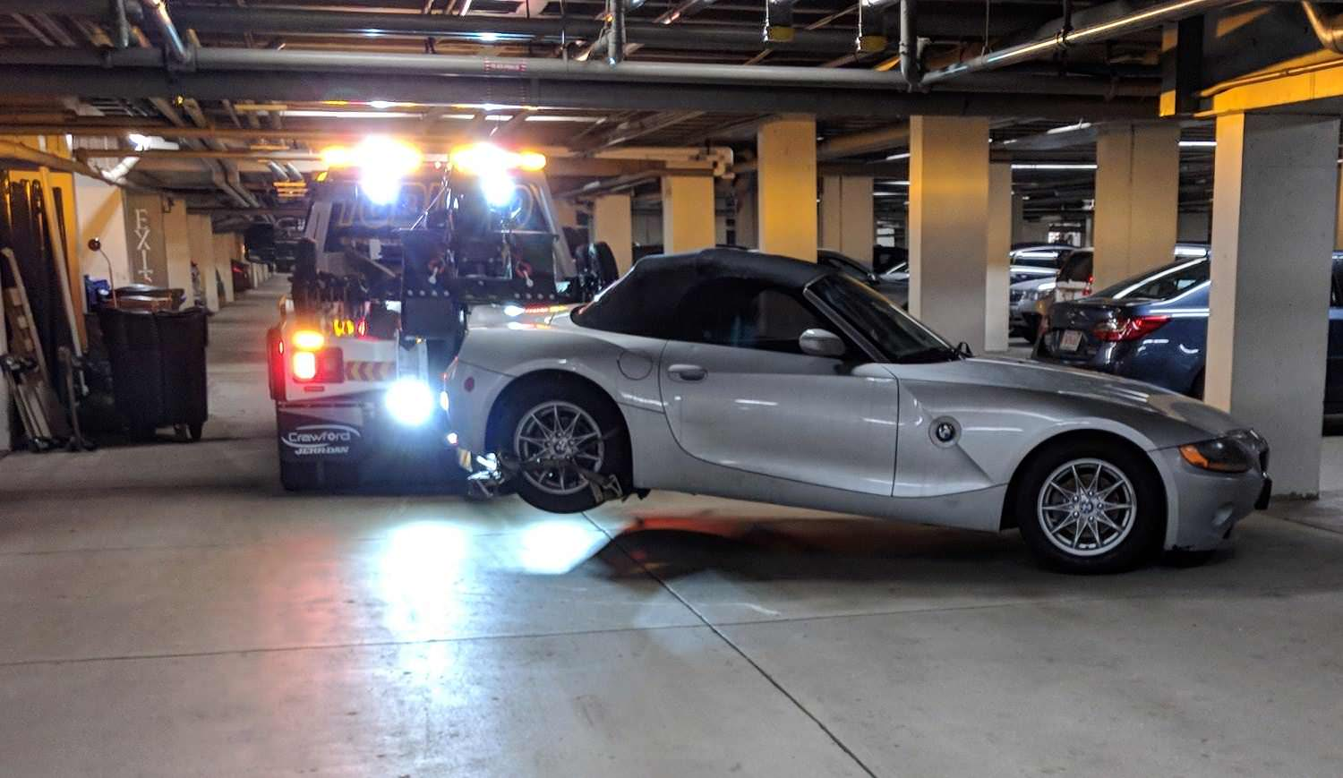 Bmw Z4 Tow And Repair